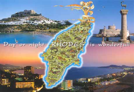 rhodes island is wonderfull